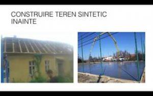 construire teren sintetic